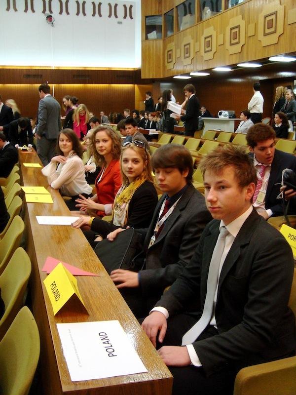 Młodzieżowy Parlament Europejski – Skopje 2011
