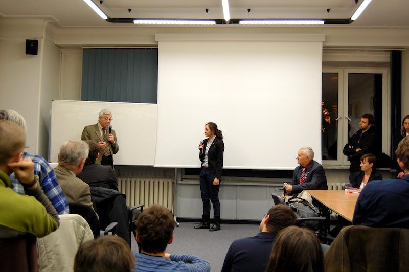 Spotkanie z Jurijem Baturinem i Jurijem Siłajewem