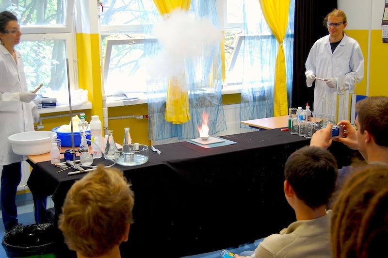 NieZwykła lekcja chemii