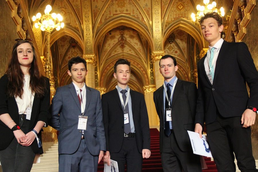 Młodzieżowy Parlament Europejski – Budapeszt 2016