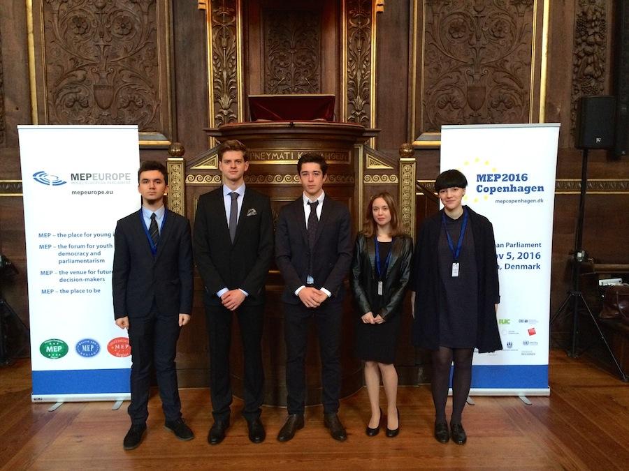 Młodzieżowy Parlament Europejski – Kopenhaga 2016