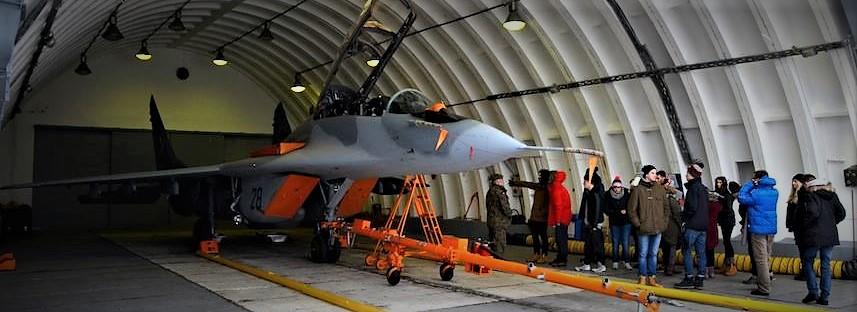 Współpraca z 23 Bazą Lotnictwa Taktycznego