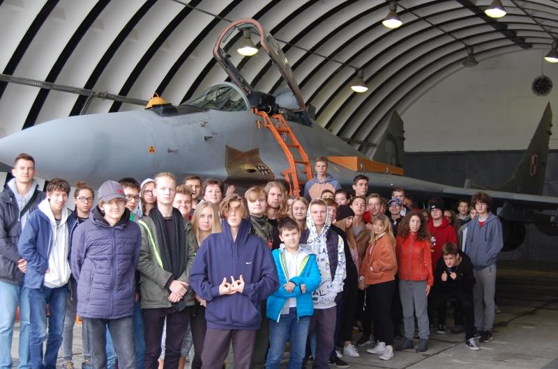 Edukacja dla Bezpieczeństwa w 23 Bazie Lotnictwa Taktycznego